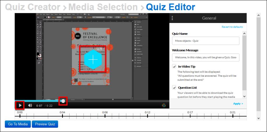 Screenshot of the blue plus button.