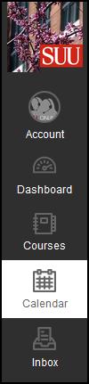Screenshot of the Calendar option.